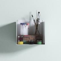 Estante cubo blanco - Estanterías en Muebles Online