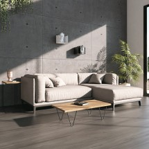 Mesa centro negra Vasili - Mesas comedor muebles