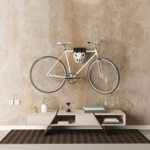 Soporte Bicicletas de Pared en Negro - bicicleta colgada en pared
