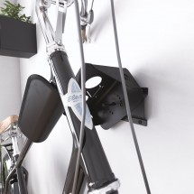 Soporte Bicicletas Pared Giratorio 26 cm metal Negro - Bici y Casco