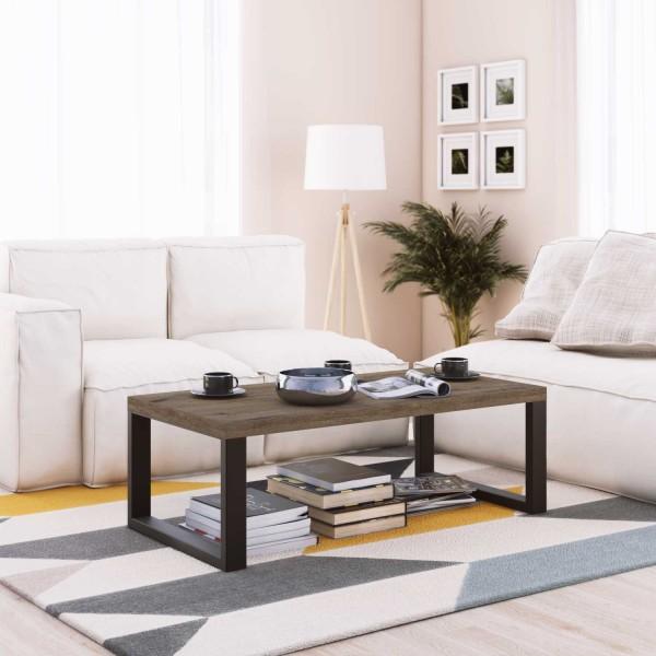 Mesa negro y madera Muebles comedor. Mesa centro